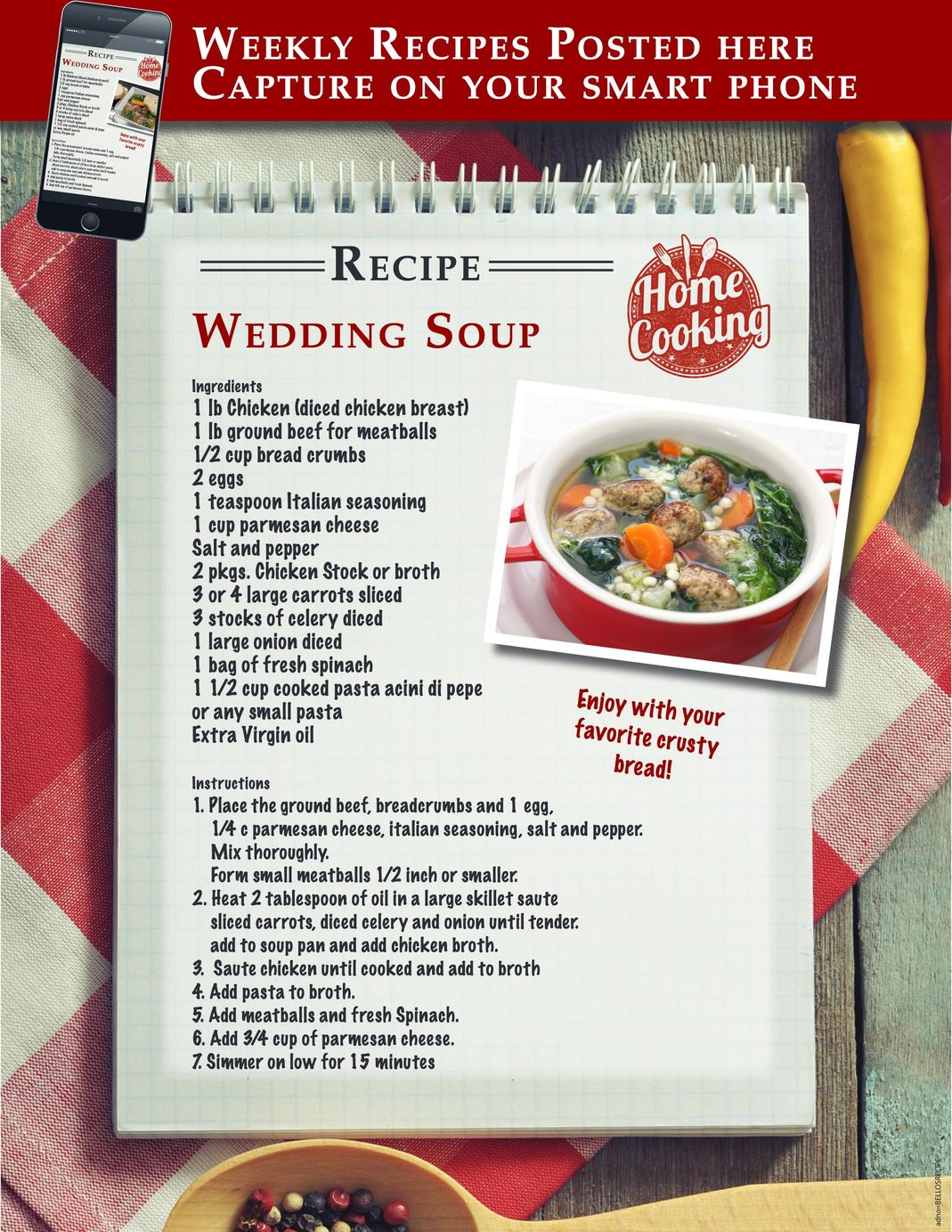 Wedding Soup recipe